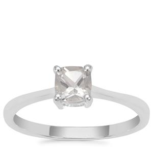 White Topaz Ring in Sterling Silver 0.76ct