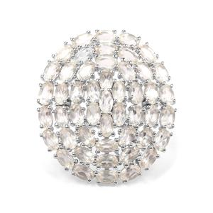 11.05ct Serenite Sterling Silver Ring