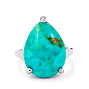 11.27ct Cochise Turquoise Sterling Silver Ring