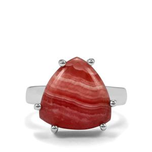 9.50ct Inca Rose Rhodochrosite Sterling Silver Aryonna Ring
