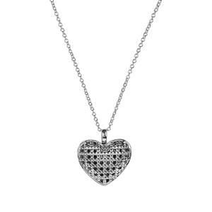 Sterling Silver Locket Necklace 9.54g