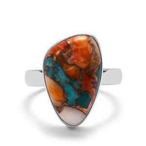 9.54ct Oyster Turquoise Sterling Silver Aryonna Ring