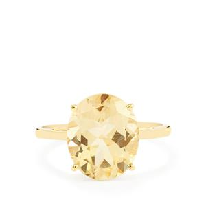 Serenite Ring  in 10k Gold 4.08cts