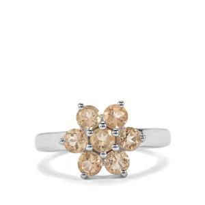 1.68ct Serenite Sterling Silver Ring