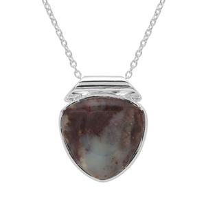 Aquaprase™ Necklace in Sterling Silver 12.70cts