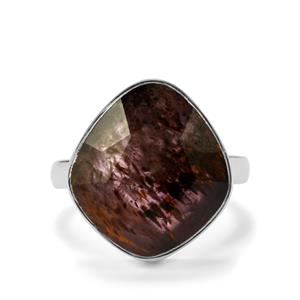 9.44ct Cacoxenite Sterling Silver Aryonna Ring