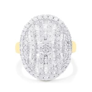1.50ct Diamond 10K Gold Tomas Rae Ring