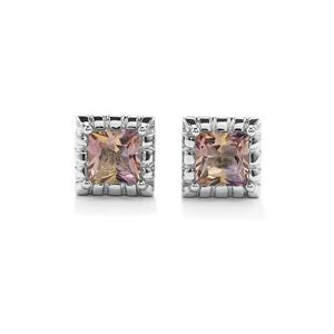 Anahi Ametrine Cufflinks in Sterling Silver 3.39cts