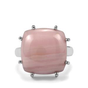 14ct Pink Aragonite Sterling Silver Aryonna Ring