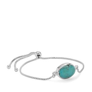 Lhasa Turquoise Slider Bracelet in Sterling Silver 5cts