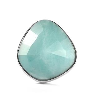 15.90ct Amazonite Sterling Silver Sarah Bennett Ring