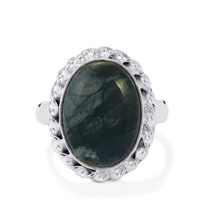 11ct Picasso Jasper Sterling Silver Aryonna Ring