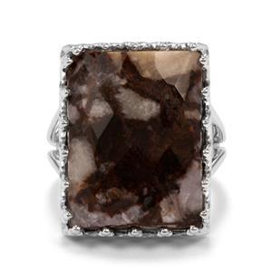 16.75ct Wild Horse Jasper Sterling Silver Ring