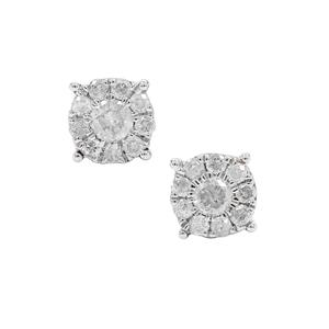 Diamond Earrings in 9K Gold 0.25ct