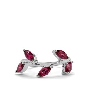 Octavian Garnet Ring in Sterling Silver 1.52cts