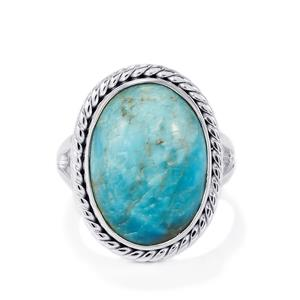 14ct Fort-Dauphin Apatite Sterling Silver Aryonna Ring