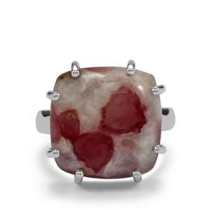 13ct Lepidolite Sterling Silver Aryonna Ring