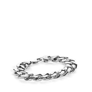 Sterling Silver Altro Curb Bracelet 99.30g