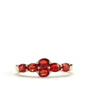 Winza Ruby Ring in 10K Gold 1.40cts