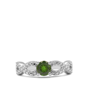 0.69ct Chrome Diopside Sterling Silver Ring