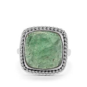 12ct Kiwi Quartz Sterling Silver Aryonna Ring