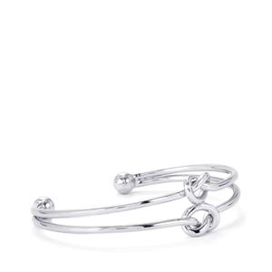 Sterling Silver Knot Cuff