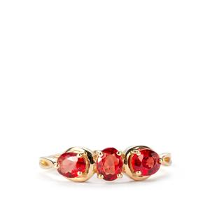 Winza Ruby Ring in 10K Gold 1.32cts
