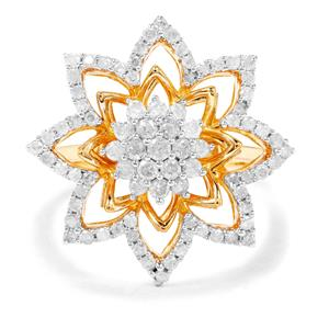 3/4ct Diamond Midas Ring