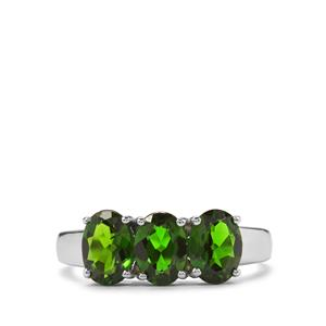 2.36ct Chrome Diopside Sterling Silver Ring