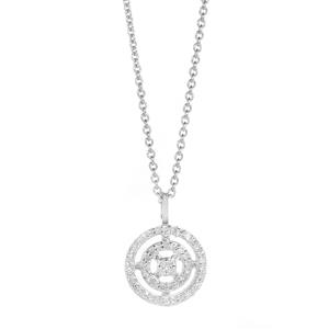 1/8ct Diamond Sterling Silver Necklace
