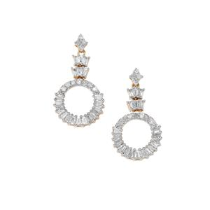 Diamond Earrings in 10k Gold 0.77ct