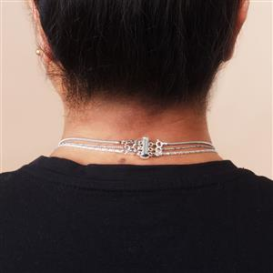 Necklace Layering Clasp in Sterling Silver