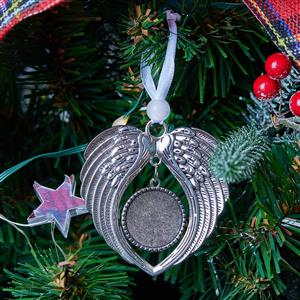 Angel Wings Christmas Tree Decoration