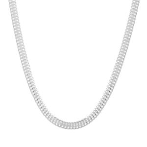 "32"" Sterling Silver Altro Diamond Cut Arrow chain 4.57g"