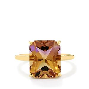 5.75ct Anahi Ametrine 10K Gold Ring