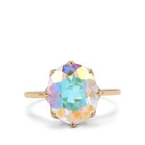 Mercury Mystic Topaz Ring in 9K Gold 5.70cts