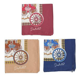 Destello Carriages at Midnight Scarf (Choice of 3 Color)