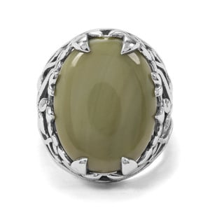 9.85ct Imperial Chalcedony Sterling Silver Ring