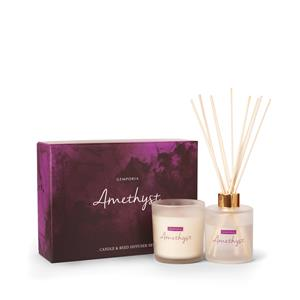 Amethyst Candle & Reed Diffuser Set ATGW 20cts