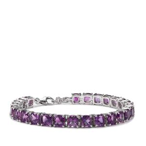 Moroccan Amethyst Bracelet in Sterling Silver 23cts