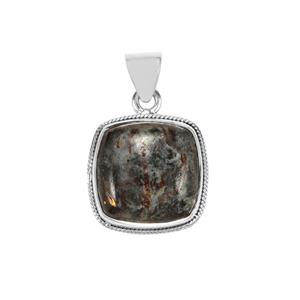 Astrophyllite Pendant in Sterling Silver 16cts