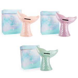 Mythical Collection - Mermaid Tail Money Box /Jewellery Holder