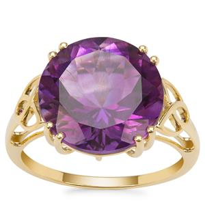 Moroccan Amethyst Ring in 9K Gold 7.04cts