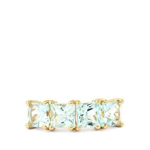 Espirito Santo Aquamarine Ring in 9K Gold 2.39cts