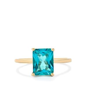 Batalha Topaz Ring in 9K Gold 2.72cts