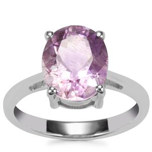 Moroccan Amethyst Ring in Sterling Silver 3.31cts