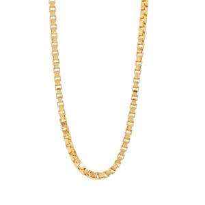 "24"" Midas Couture Diamond Cut Slider Venetian Chain 2.76g"