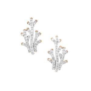 Diamond Earrings in 9K Gold 0.51ct