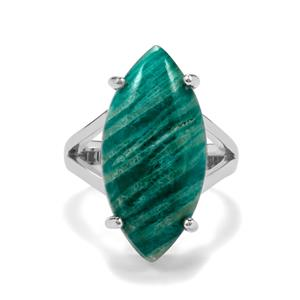 Amazonite Ring in Sterling Silver 11.50cts