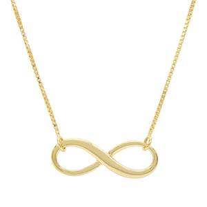 """18"""" Midas Remembrance Infinity Necklace 2.30g"""